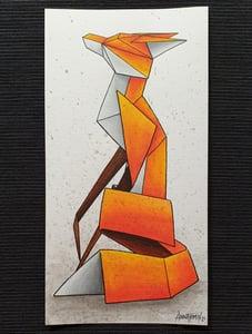 "Image of ""Solitary #4"" original watercolour"