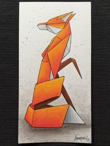 "Image of ""Solitary #6"" original watercolour"