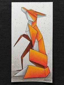 "Image of ""Solitary #8"" original watercolour"