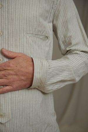 Image of BED SHIRT - VINTAGE STRIPE