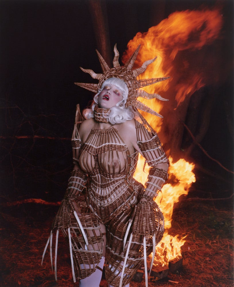 """Image of """"THE WICKER WOMAN"""" Night edition"""