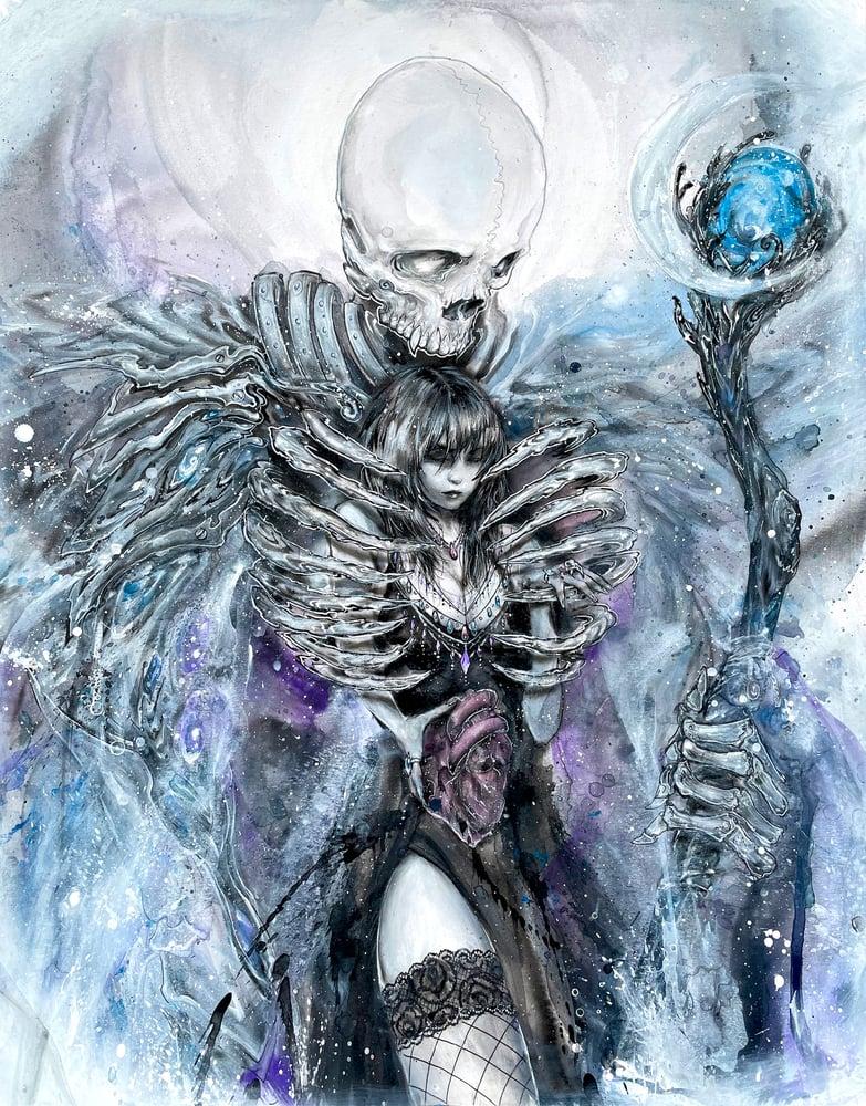 "Image of ""Death"" Original Painting"