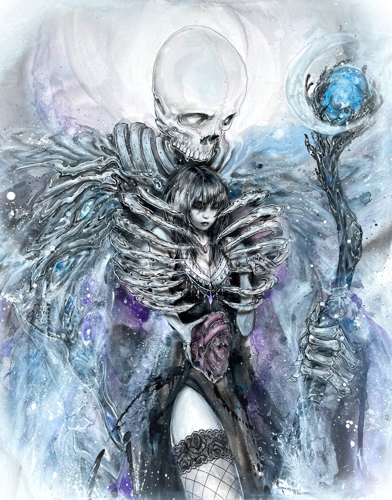 """Image of Limited Edition """"Death"""" Print"""
