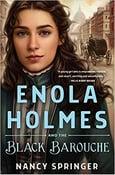 Image of Nancy Springer -- <em>Enola Holmes and the Black Barouche</em> -- SIGNED