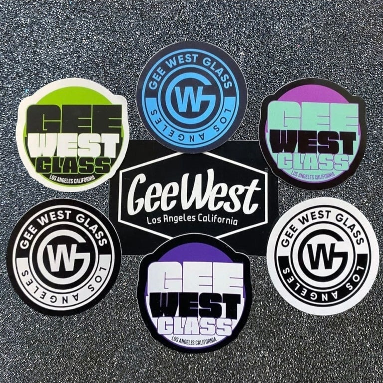 Image of GeeWest Sticker Pack Of 7