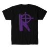 THE REJECTS-LOGO SHIRT (PURPLE)
