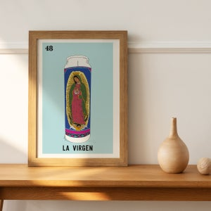 Image of 'La Virgen' Print