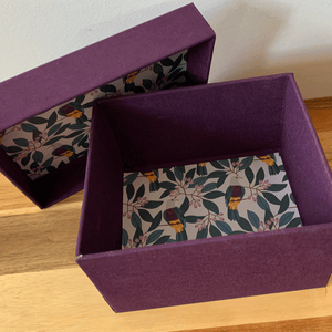 Image of Three Nesting Boxes - ONLINE - Weekly 26th October - 9th November (7-9pm)