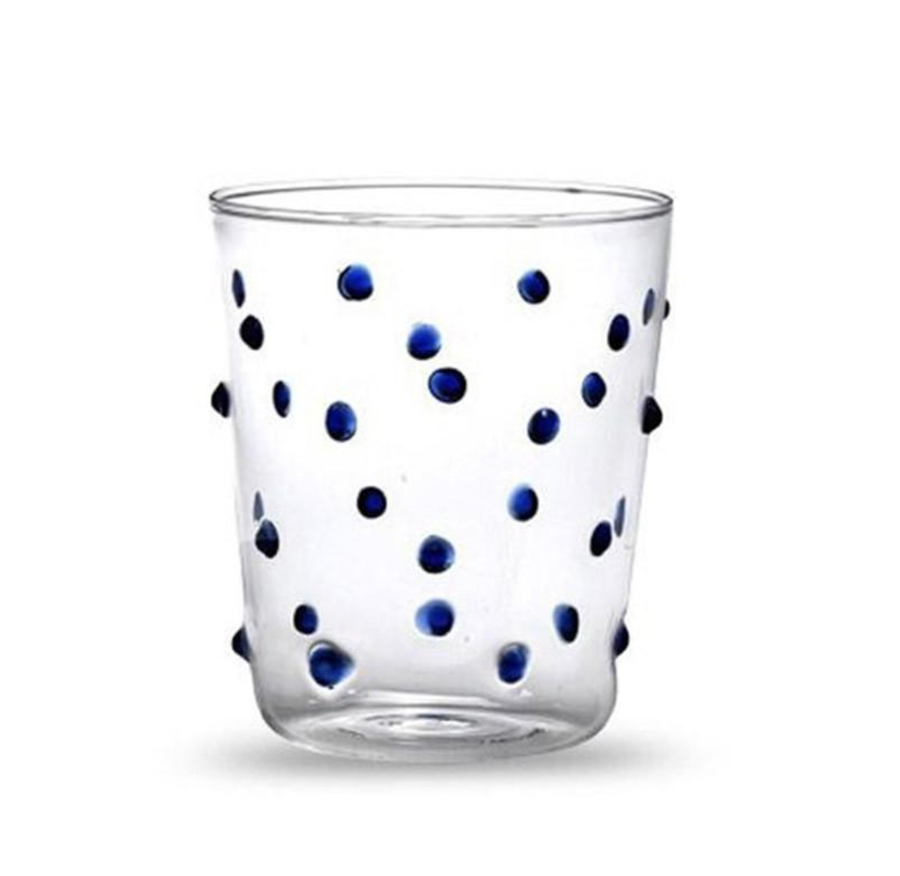 Image of Polka Tumbler in Blue
