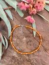 Marigold Bead Necklace