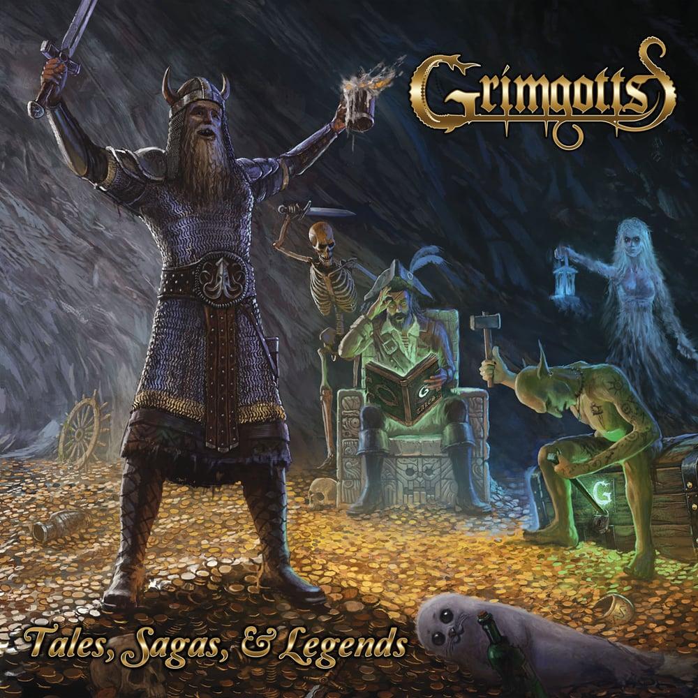 GRIMGOTTS - Tales, Sagas, & Legends CD