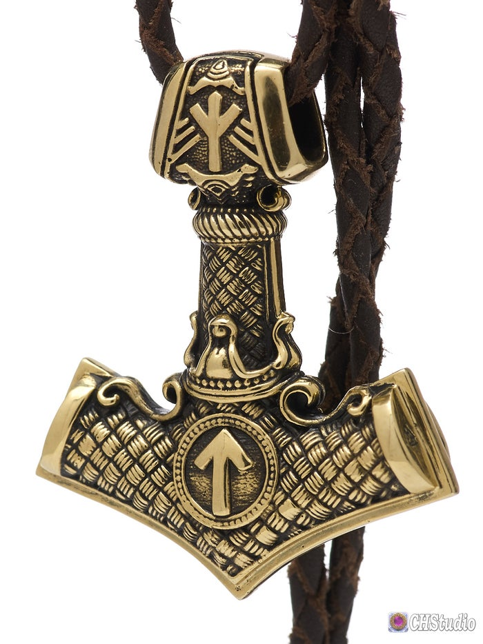 MJOLNIR with Valknut :: King Size :: Choose Your Price from 1 to 100 USD