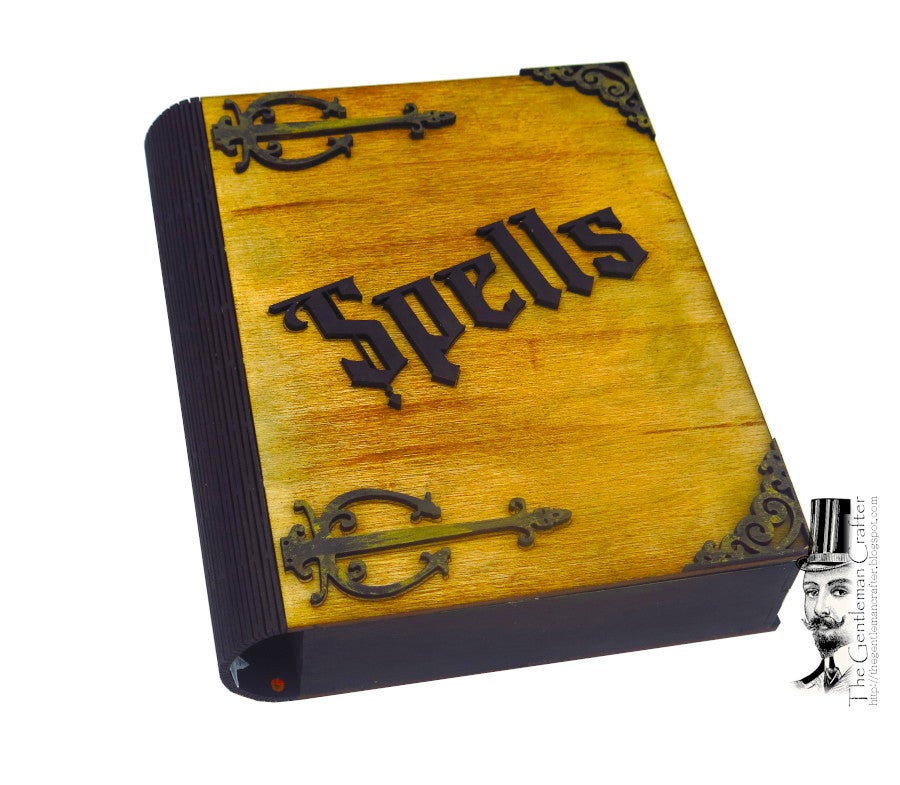 Image of Halloween Spell Book Kit/No Glue