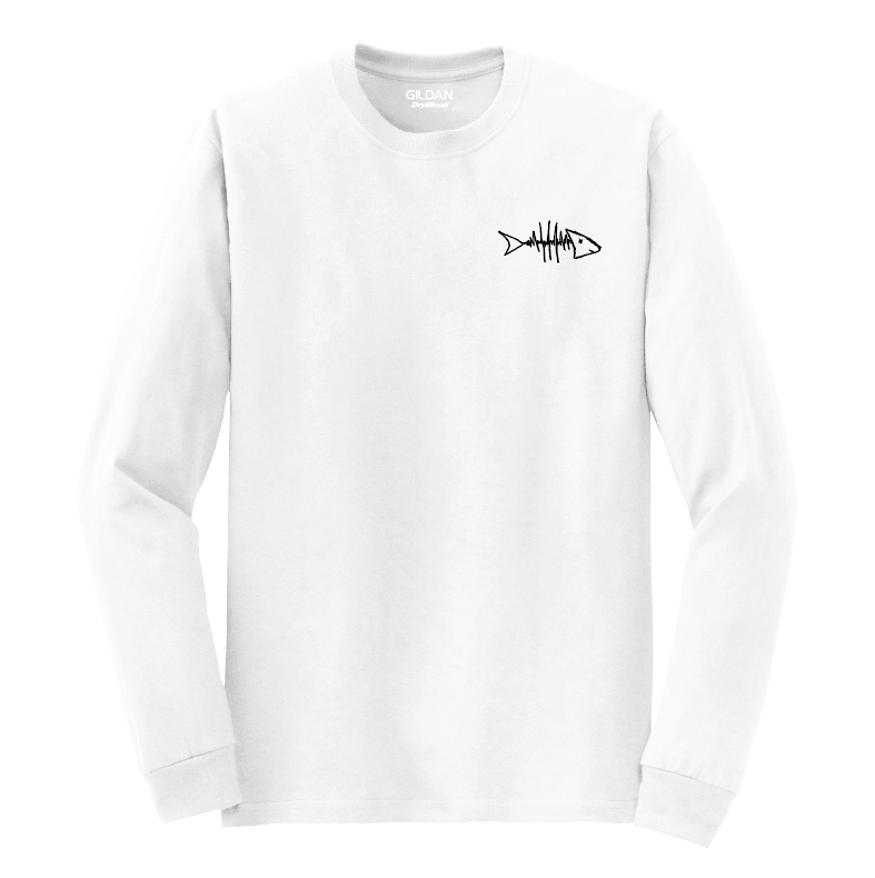 Play A Song Music Festival T-Shirt - White Long Sleeve
