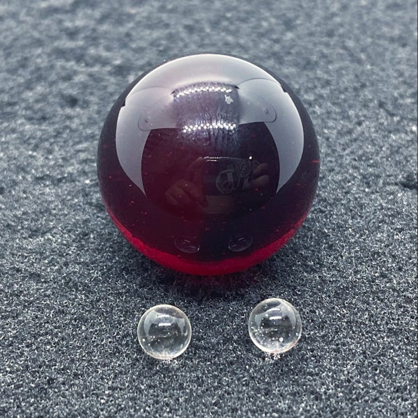 Image of Captain Tokez Red Marble Set