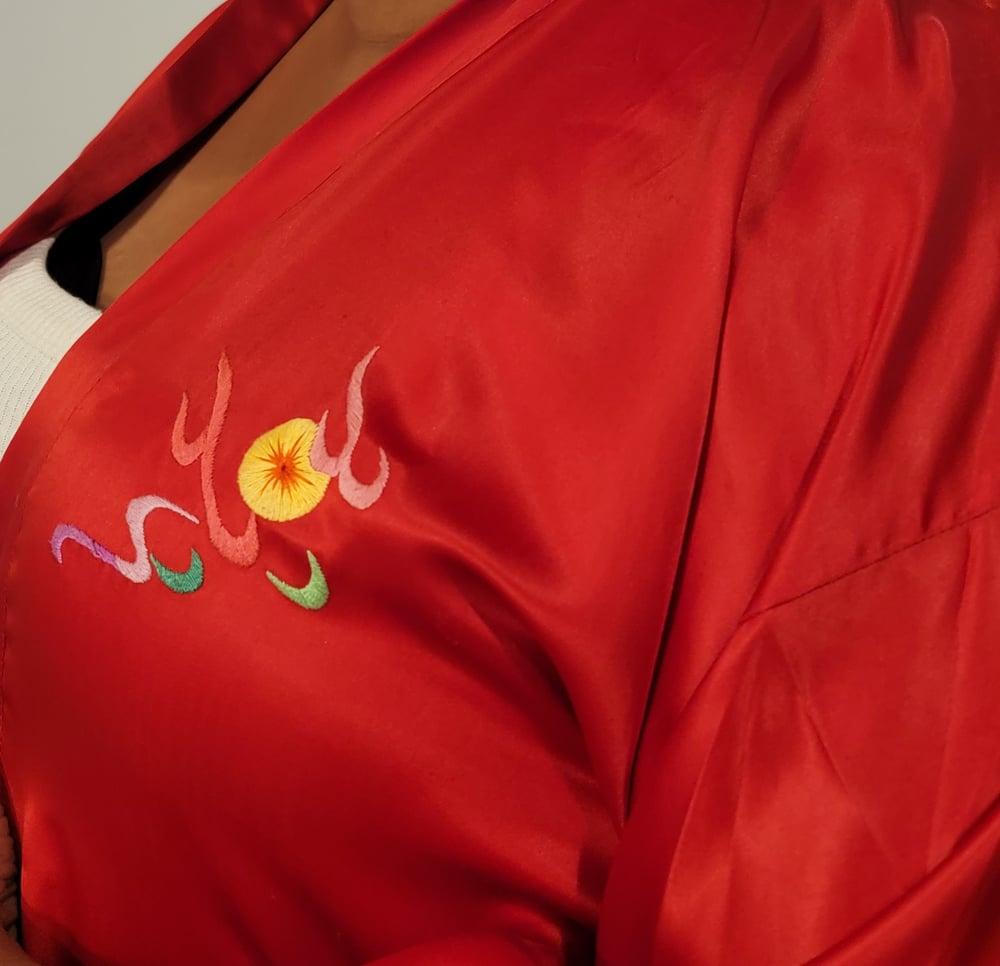 Image of 100% Silk Dragon Robe