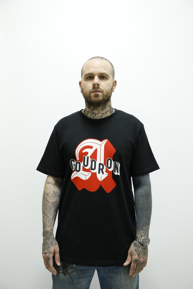 """Image of MAISON MERE X GOUDRON  Big """"A"""" TEE"""