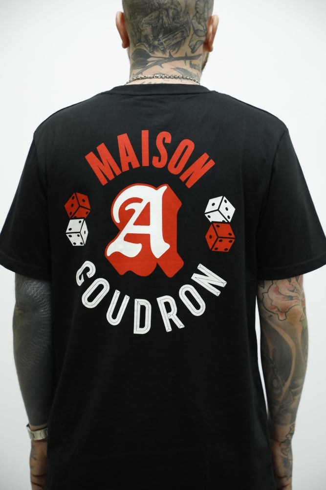 Image of MAISON MERE X GOUDRON DICE TEE