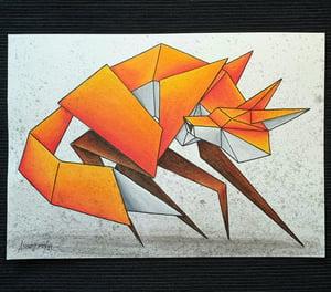 "Image of ""Wylde"" original watercolour"
