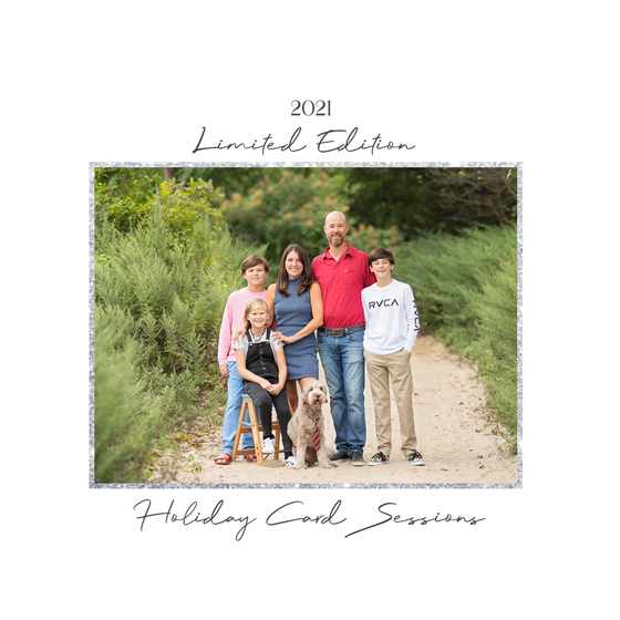Image of {SATURDAY, OCTOBER 16, 2021} LIMITED EDITION HOLIDAY CARD SESSIONS