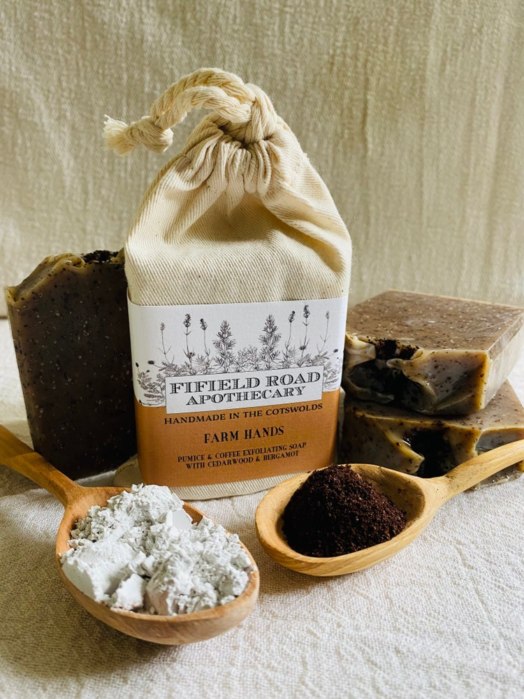 Image of Farm Hands Coffee and Pumice Exfoliating Hand Soap