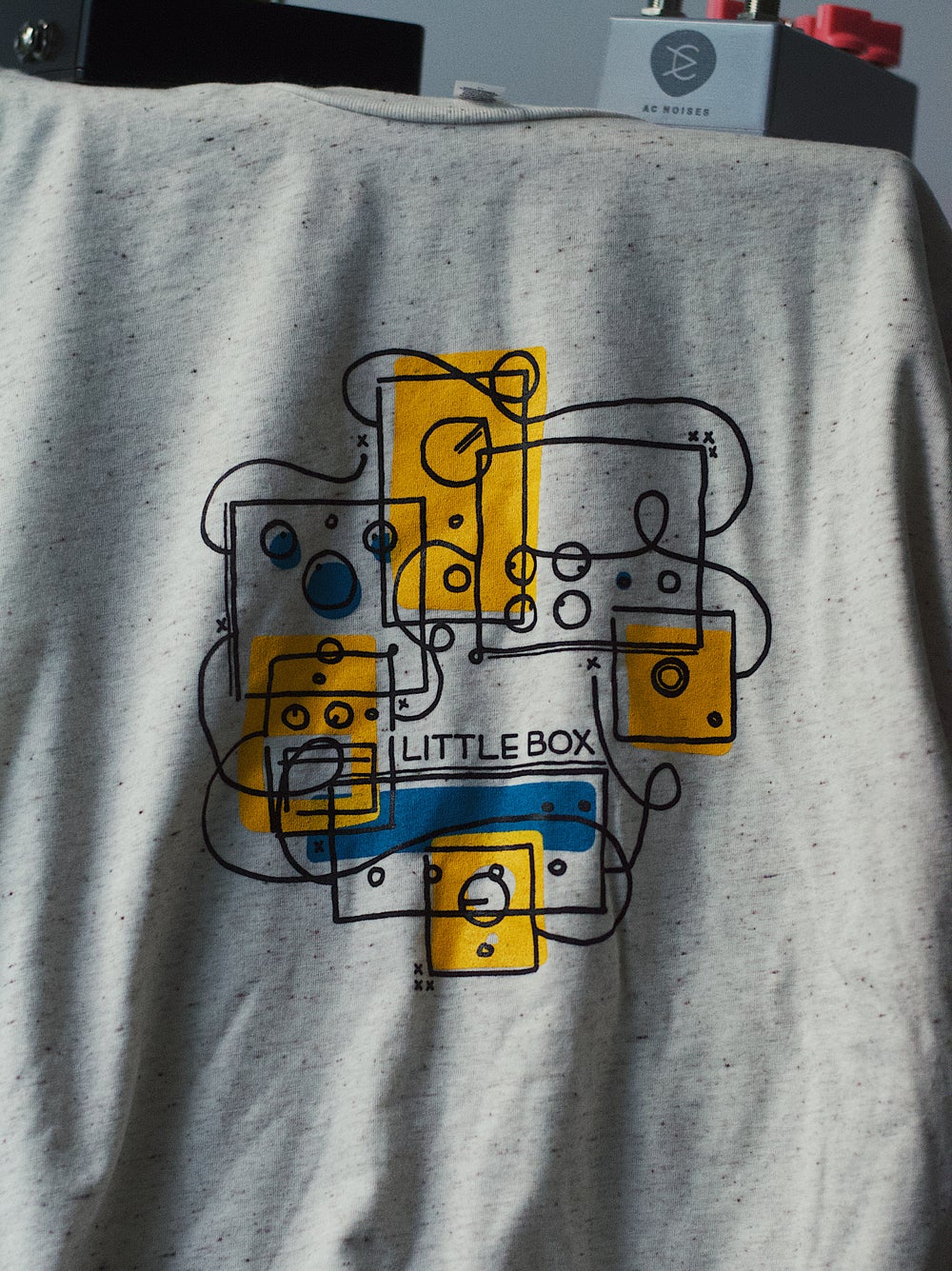 """Image of Little Box """"Signal Chain"""" Tee"""