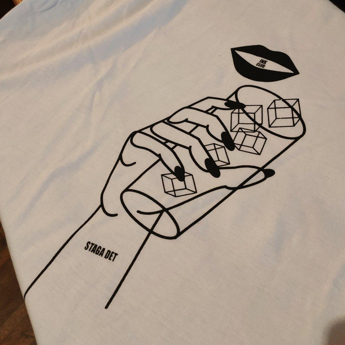 "Image of T-Shirt Ink Club Edizione Speciale ""Stata Det"" - Sara Baido"