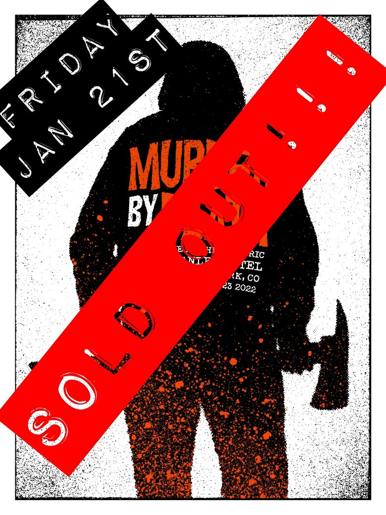 Image of FRIDAY, JANUARY 21st, 2022 (1) Will-call Ticket for MBD at the Stanley Hotel