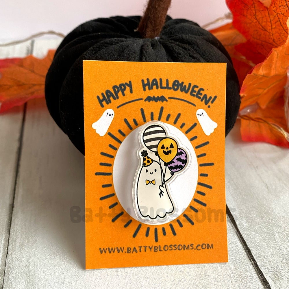 Ghost Party pin badge