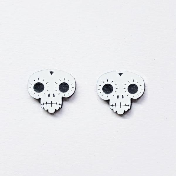 Image of Skull Studs