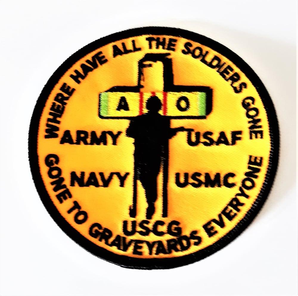 Image of Vietnam Veteran Agent Orange  Patch
