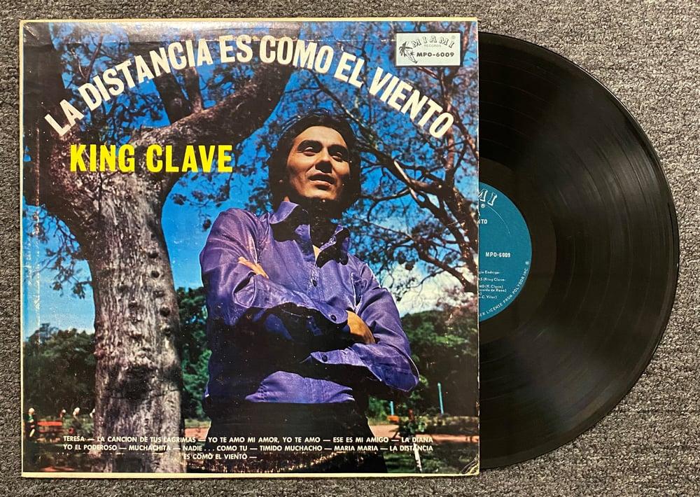 King Clave- La Distancia es Como el Viento LP