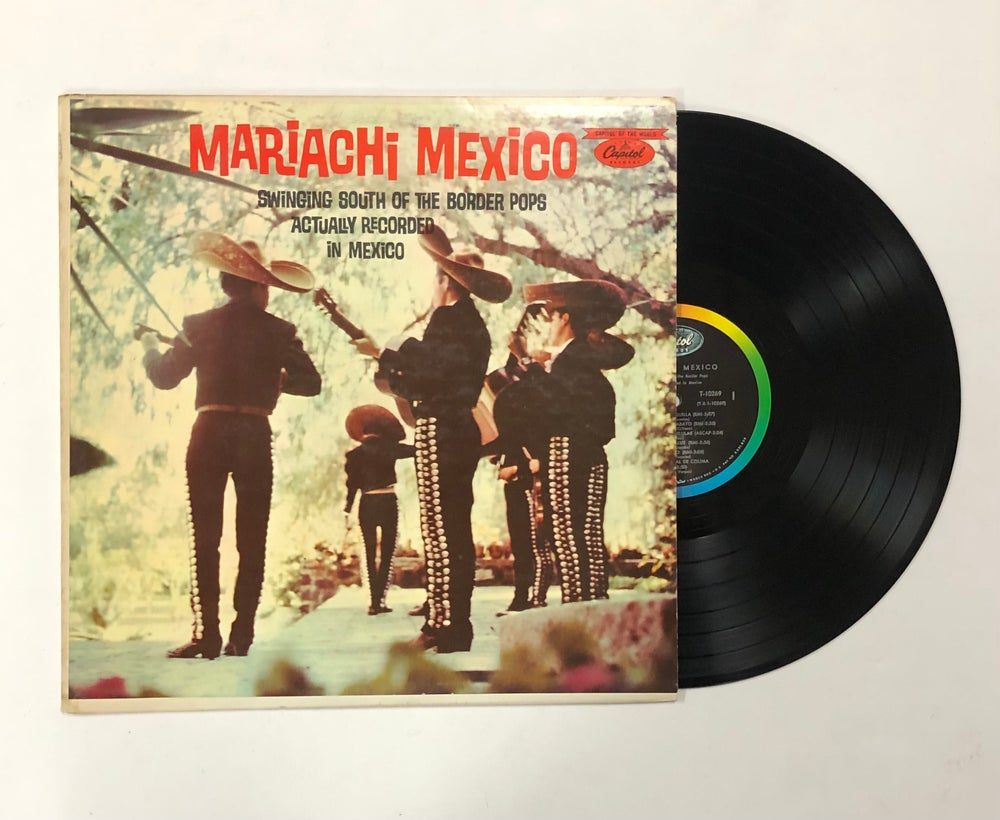 Mariachi Mexico – Swinging South Of The Border Pops Actually Recorded In Mexico LP