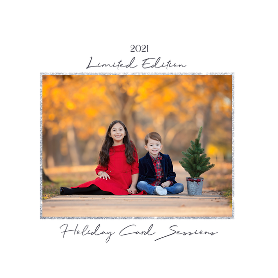 Image of {THURSDAY, NOVEMBER 4, 2021} LIMITED EDITION HOLIDAY CARD SESSIONS