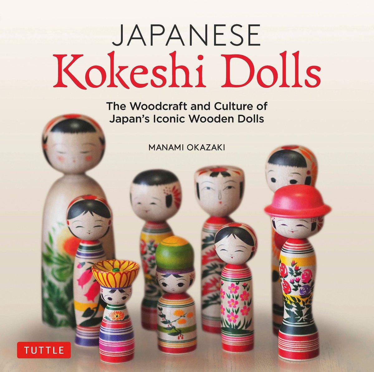 Image of Japanese Kokeshi Dolls