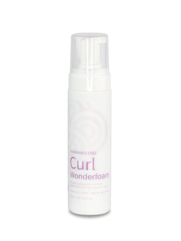 Image of Clever Curl Fragrance-Free Wonderfoam
