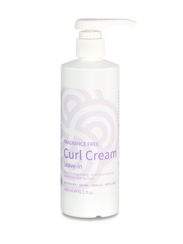 Image of Clever Curl Fragrance-Free Curl Cream Leave-In