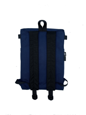 Image of Navy Cordura backpack