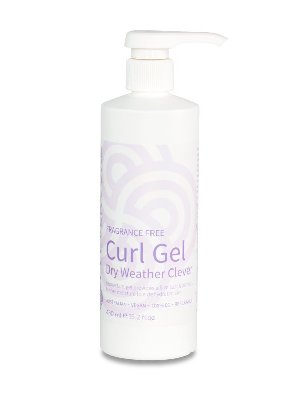 Image of Clever Curl Fragrance-Free Dry Weather Gel