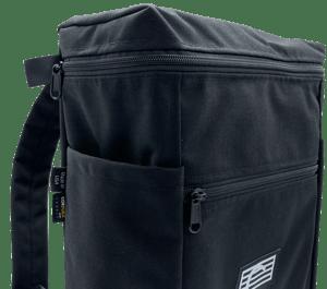 Image of Black Cordura Backpack