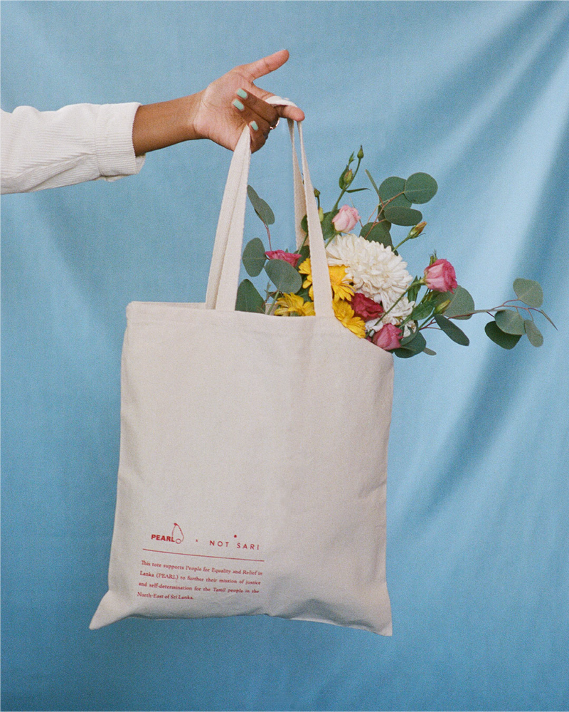 Image of Tamil Eelam Tote (100% of Profits donated to PEARL)