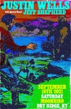 LIMITED TO 20/SIGNED Justin Wells 8.18.21 Moonbird Dry Ridge, KY Poster