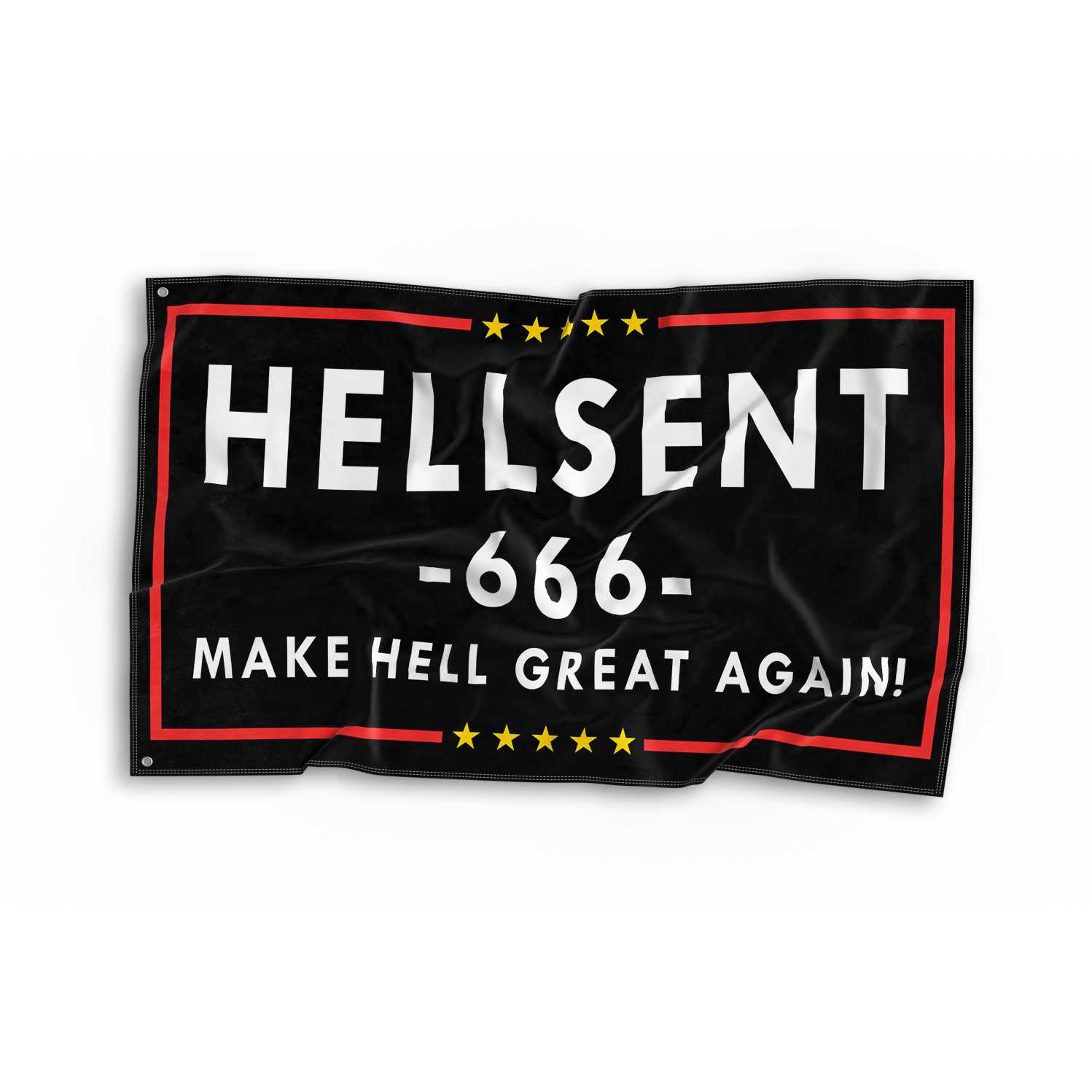 Image of Make Hell Great Again Flag