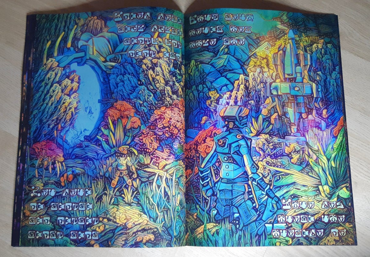 Image of Alientropy Visuals Book
