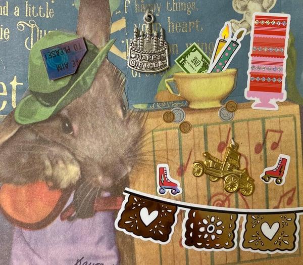 Image of Musical Rat Birthday