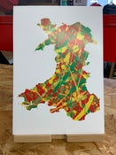 Image of Wales One Love (A4 Print)