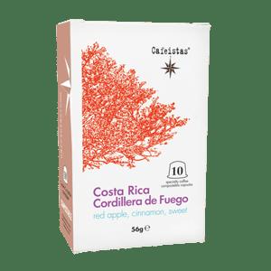 Image of cordillera de fuego - anaerobic - costa rica - 10 compostable nespresso®*compatible capsules - 56g