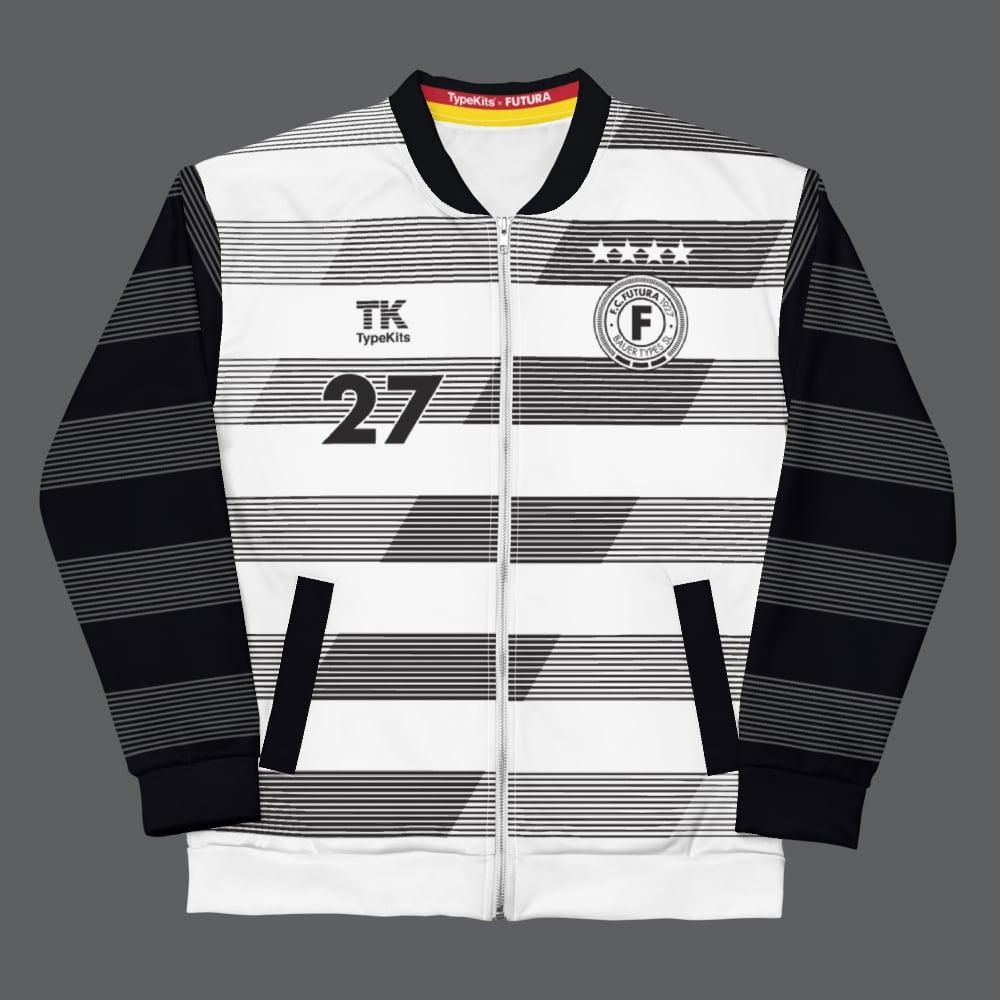 Image of Team Futura 1927 - White/Black Unisex Jacket
