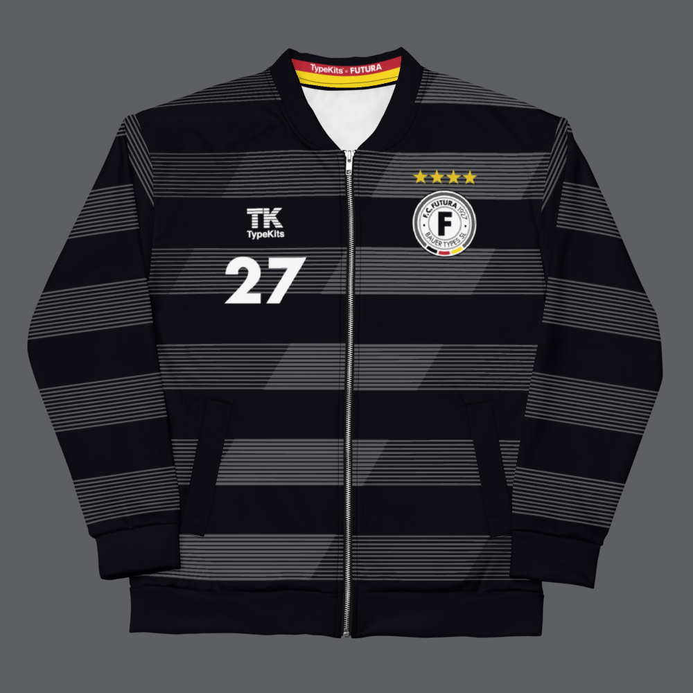 Image of Team Futura 1927 -  Black Unisex Jacket