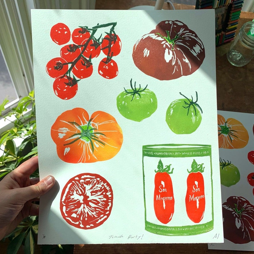 Tomato Party! (With San Marzano can)